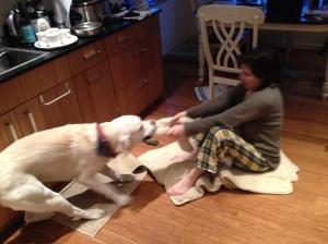 Mongo gives Kimi the Seattle Sleighride