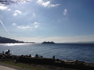 Ferry at West Seattle