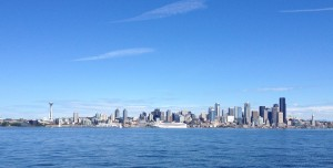 Ferrying into Seattle