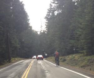 Mountain Biker/Hiker