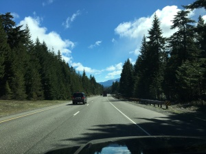 Coming into Cle Elum